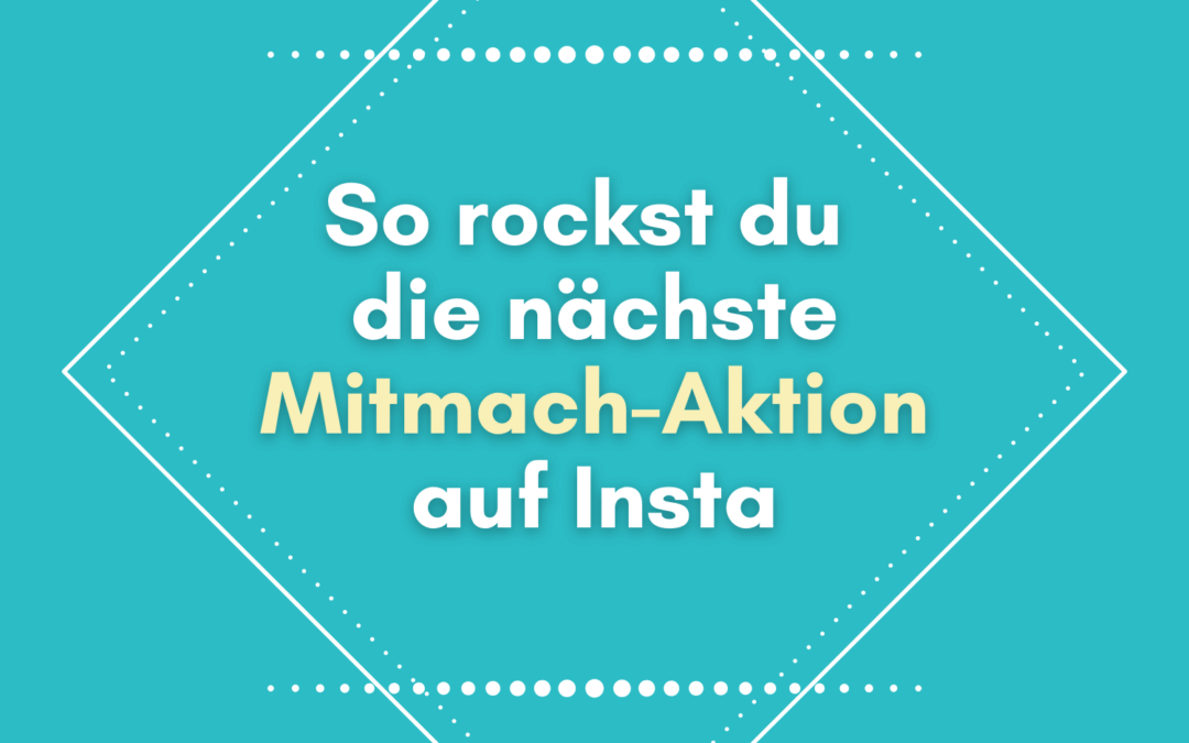 Instagram Community Aktion