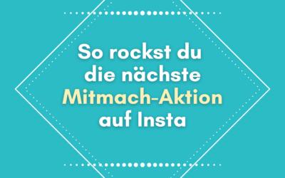 Instagram Community Aktion: Virale Reichweite