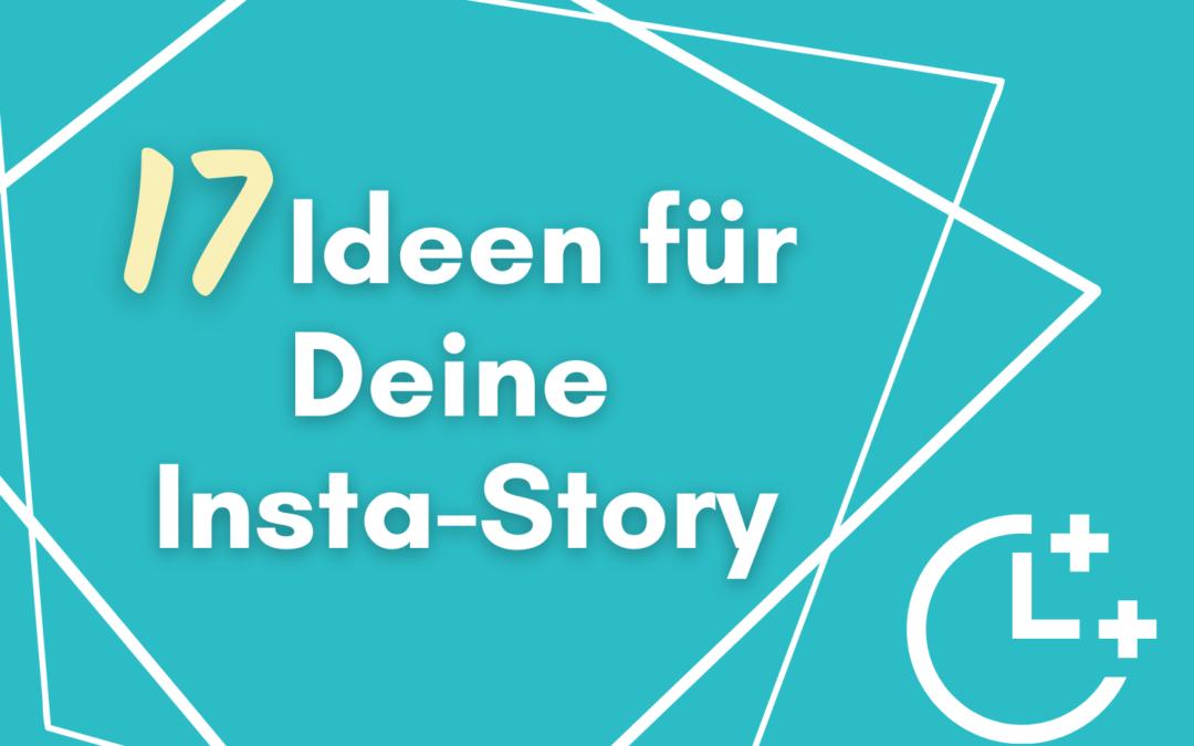 Ideen für deine Instagram Story