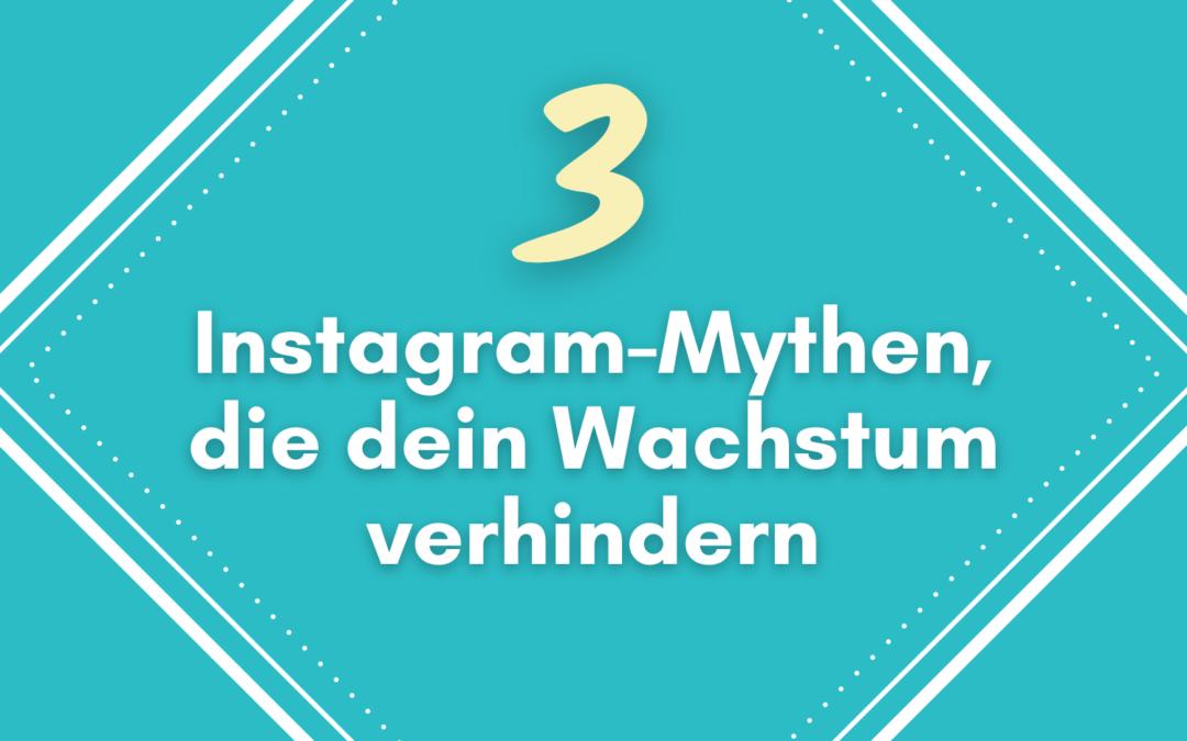 Die 3 größten Instagram Mythen